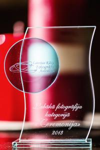 Balva, Labākā fotogrāfija kategorijā Ceremonija 2013